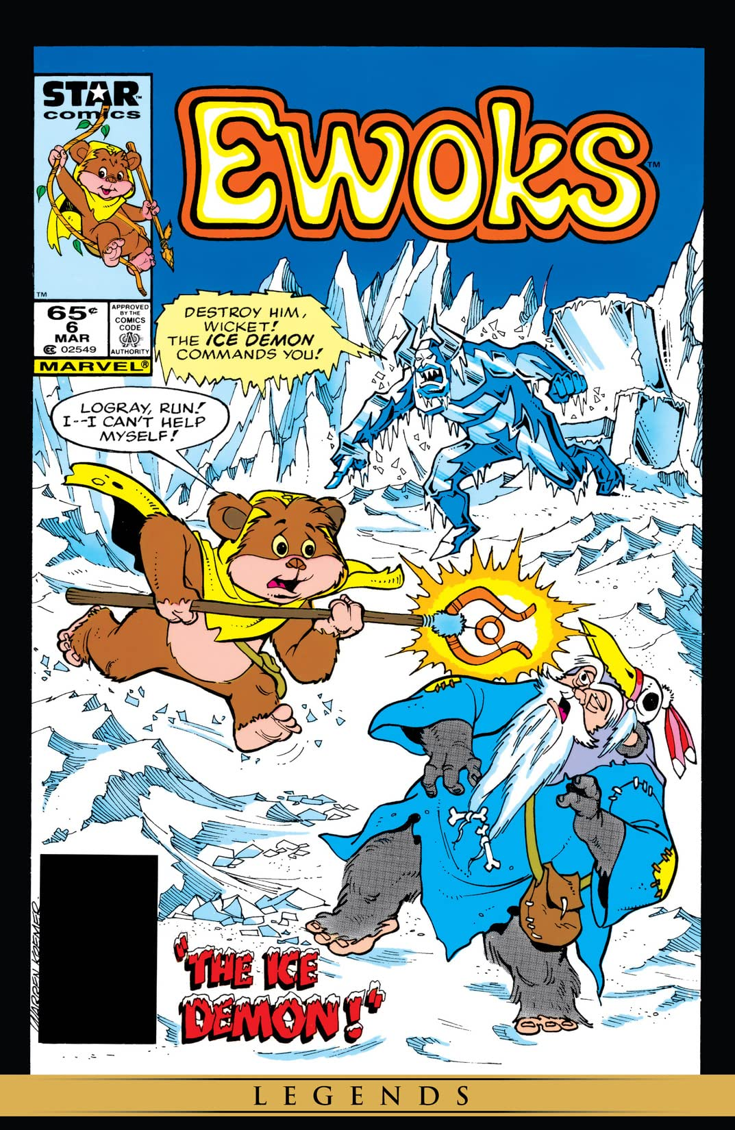 Star Wars: Ewoks (1985-1987) #6
