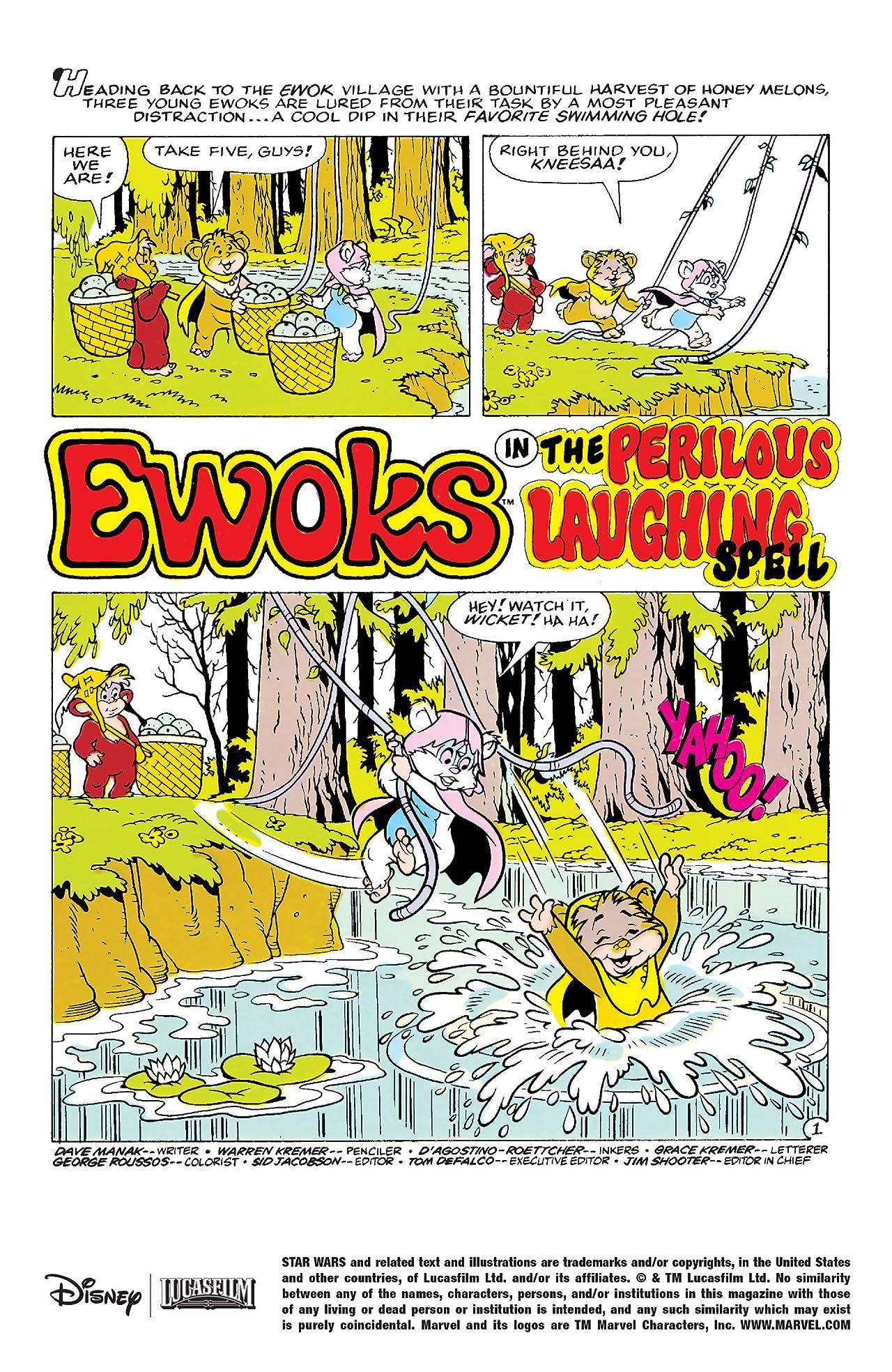 Star Wars: Ewoks (1985-1987) #7