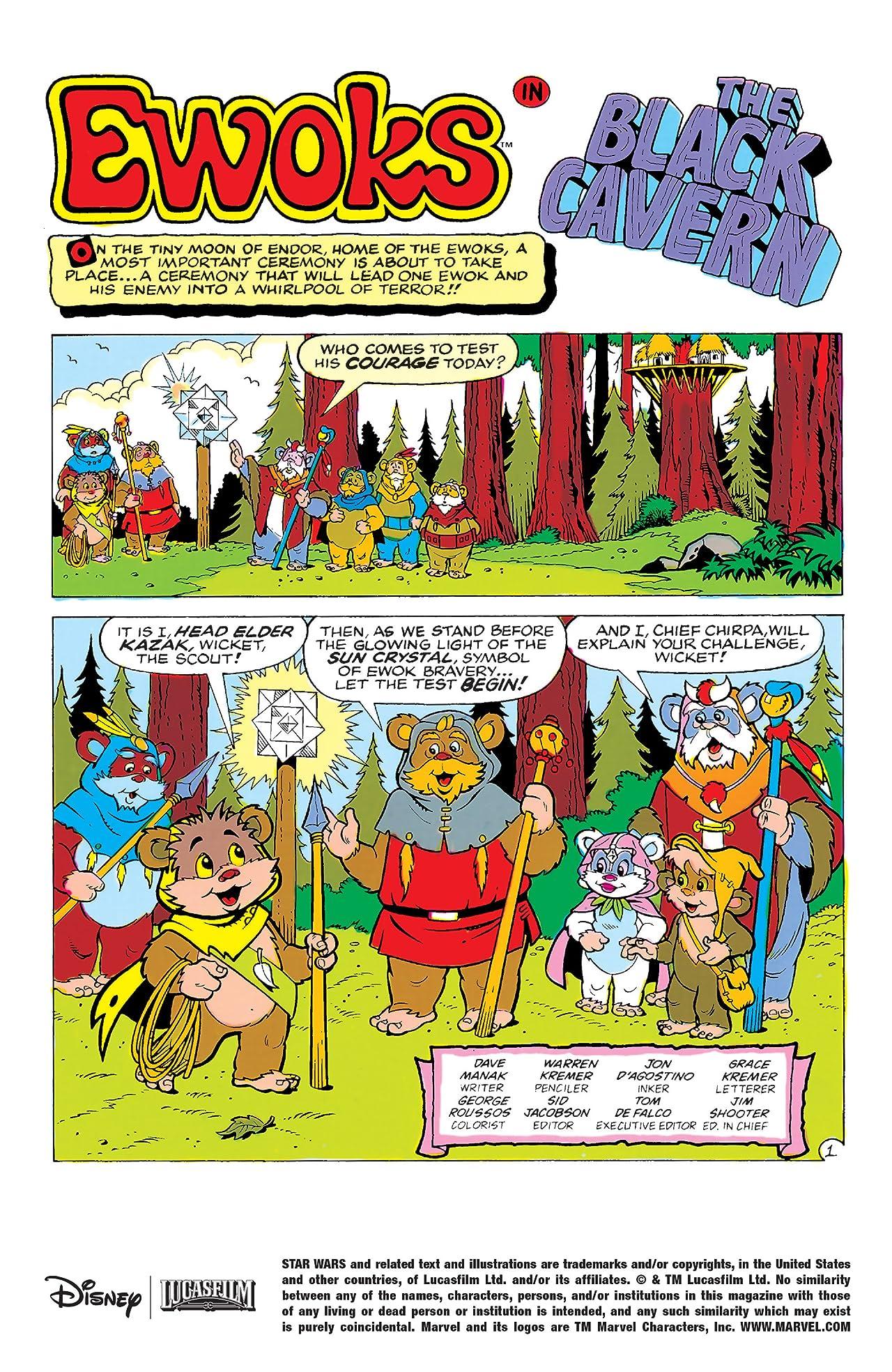 Star Wars: Ewoks (1985-1987) #13
