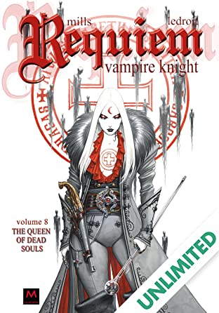 Requiem Vampire Knight Vol. 8: The Queen Of Dead Souls