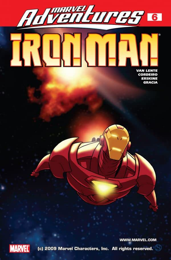 Marvel Adventures Iron Man (2007-2008) #6