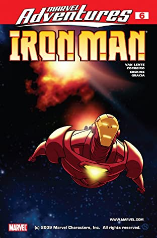 Marvel Adventures Iron Man (2007-2008) No.6