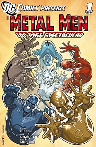 DC Comics Presents: Metal Men #1