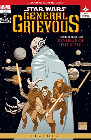 Star Wars: General Grievous (2005) #1 (of 4)