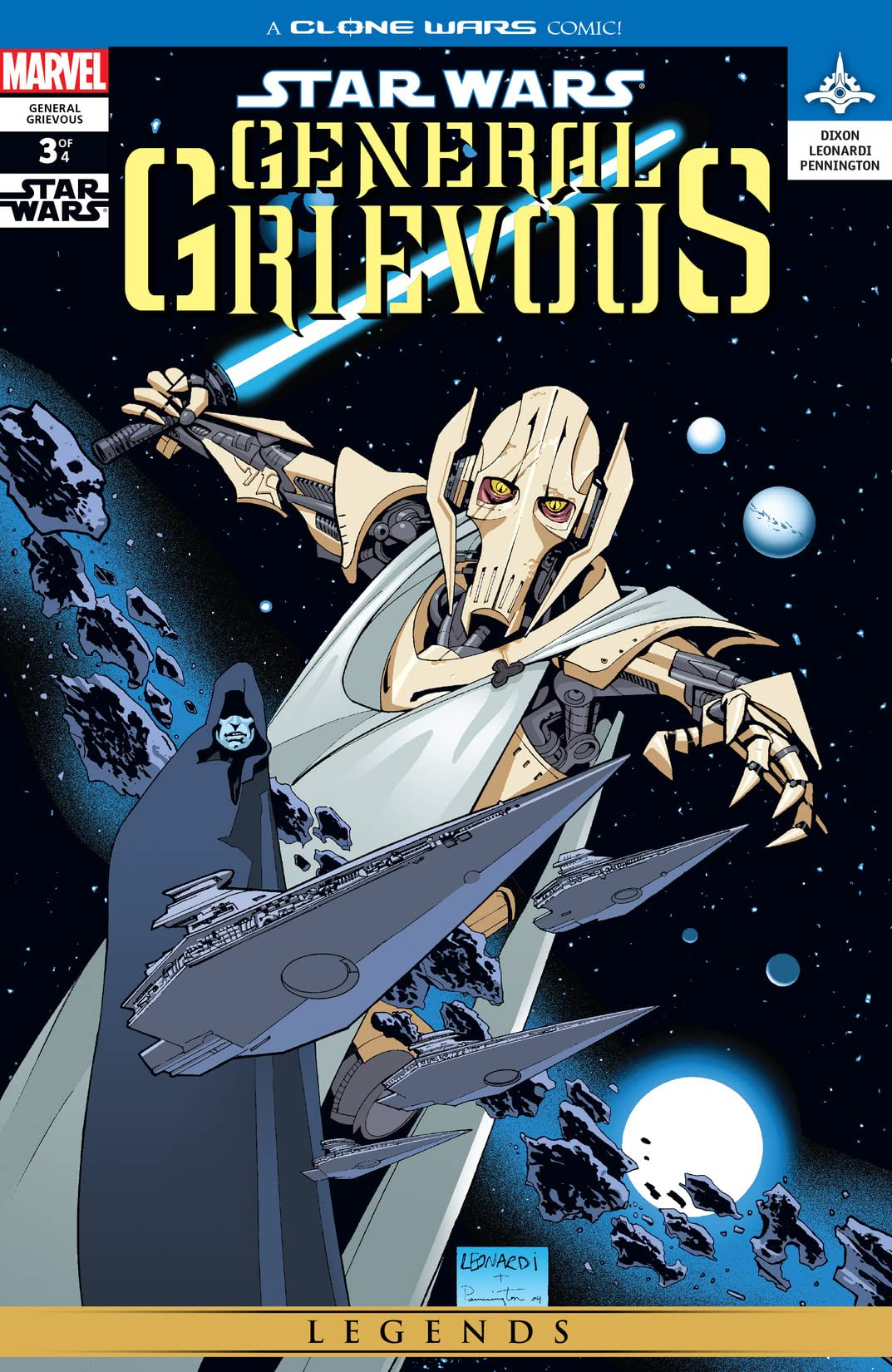 Star Wars: General Grievous (2005) #3 (of 4)