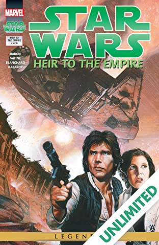 Star Wars: Heir to the Empire (1995-1996) #2 (of 6)
