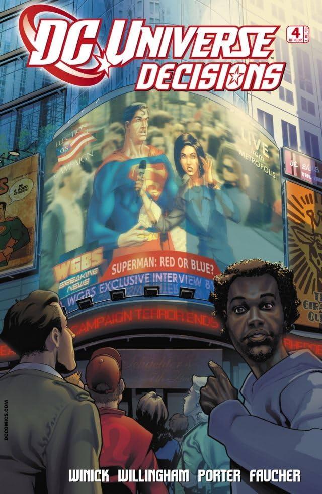 DC Universe: Decisions #4