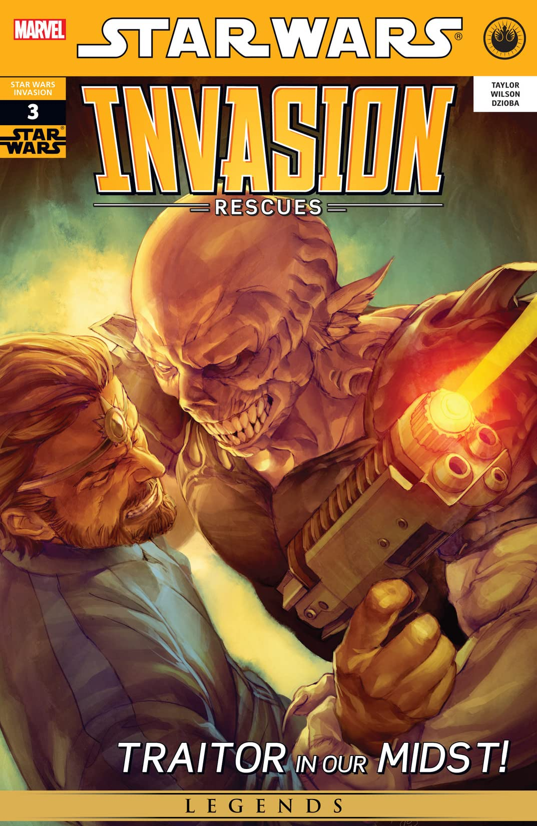 Star Wars: Invasion - Rescues (2010) #3 (of 6)
