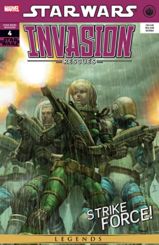Star Wars: Invasion - Rescues (2010) #4 (of 6)