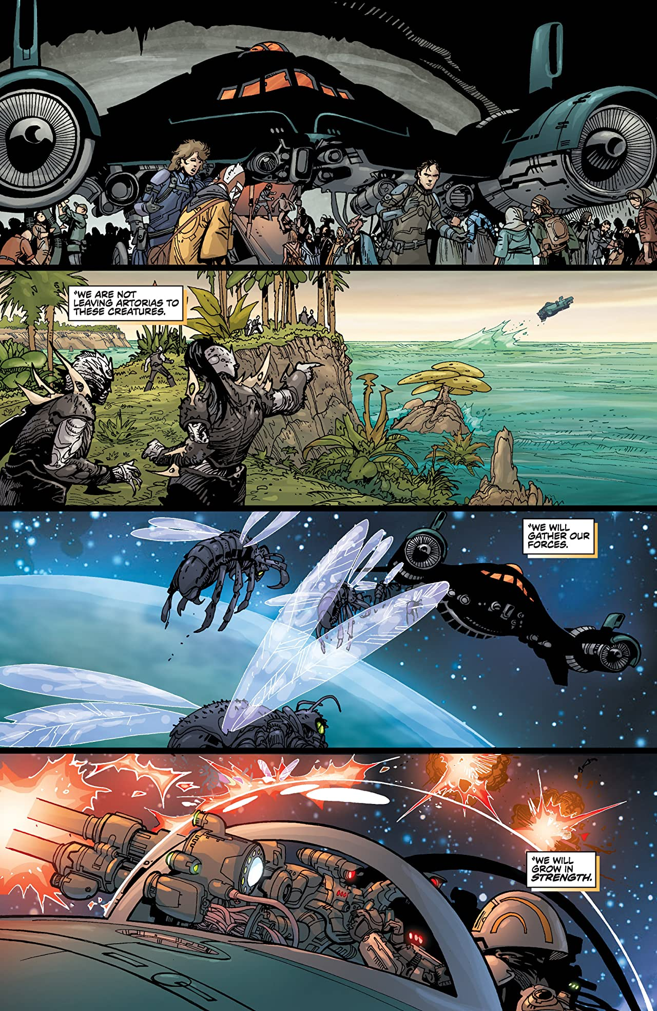 Star Wars: Invasion - Rescues (2010) #6 (of 6)