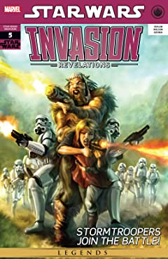 Star Wars: Invasion - Revelations (2011) #5 (of 5)