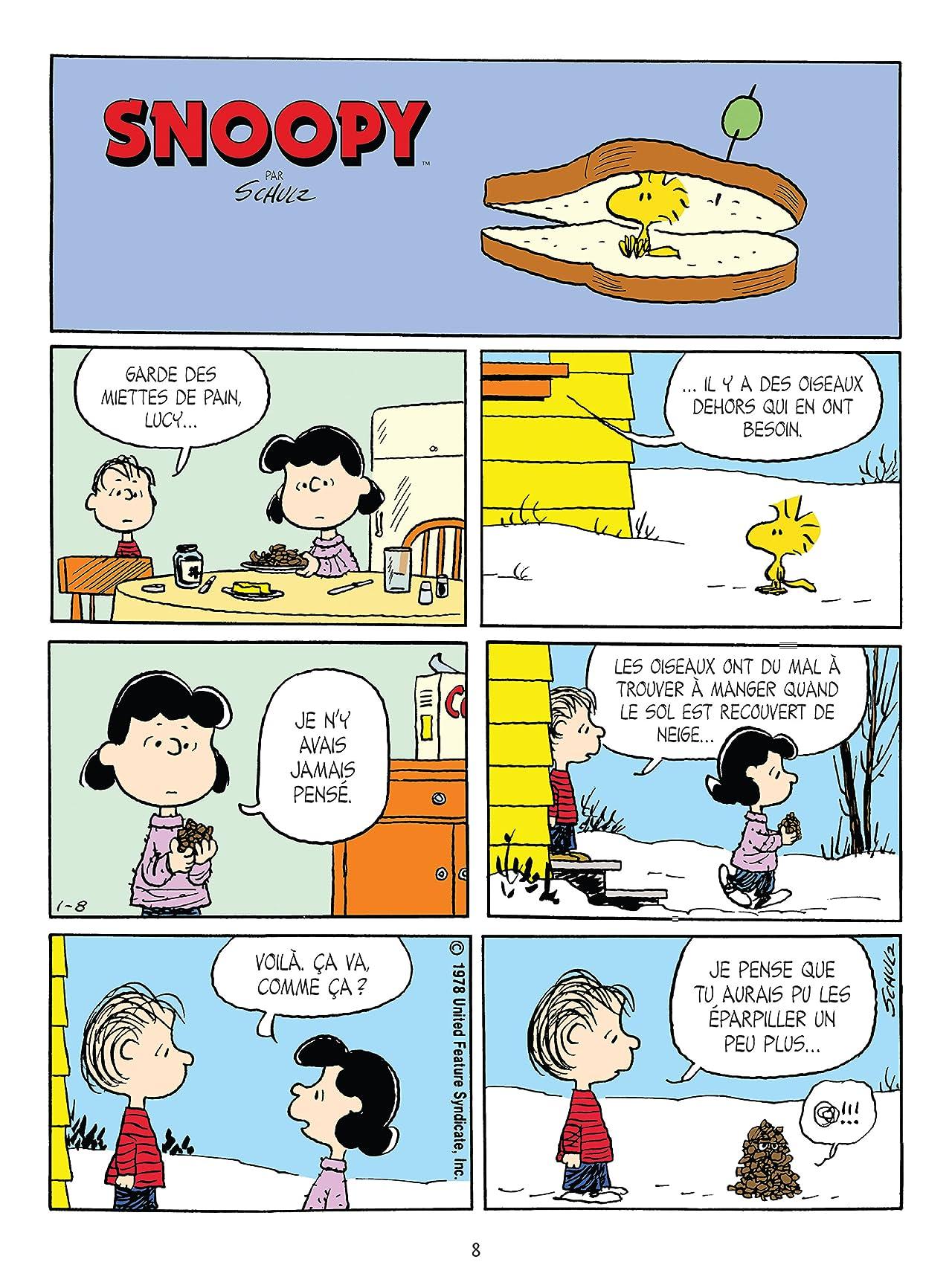 Snoopy et le petit monde des Peanuts Vol. 5
