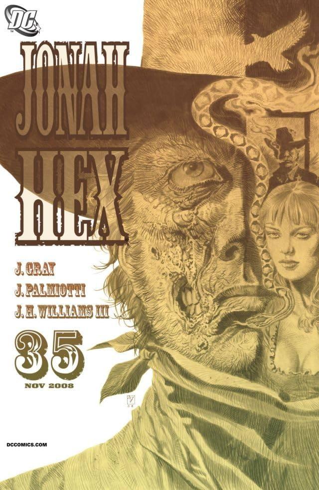 Jonah Hex (2006-2011) #35