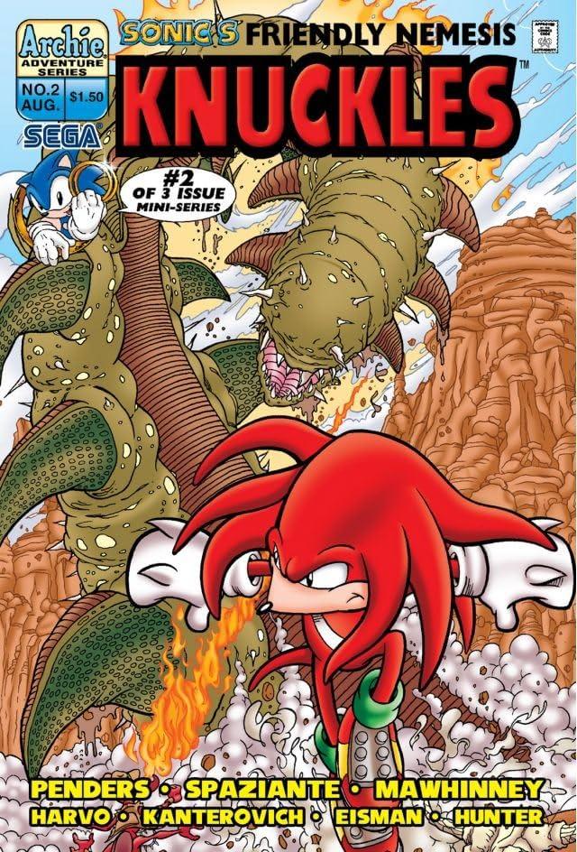 Sonic's Friendly Nemesis: Knuckles #2