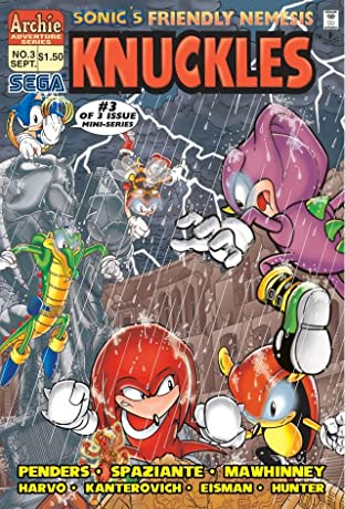 Sonic's Friendly Nemesis: Knuckles #3