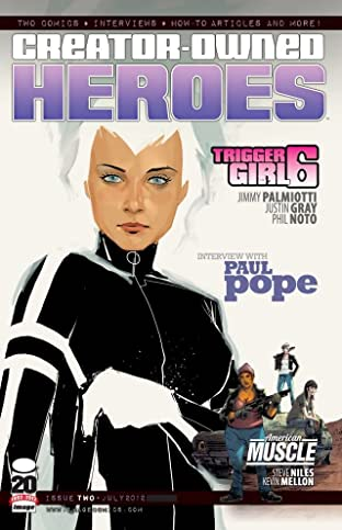 Creator Owned Heroes #2