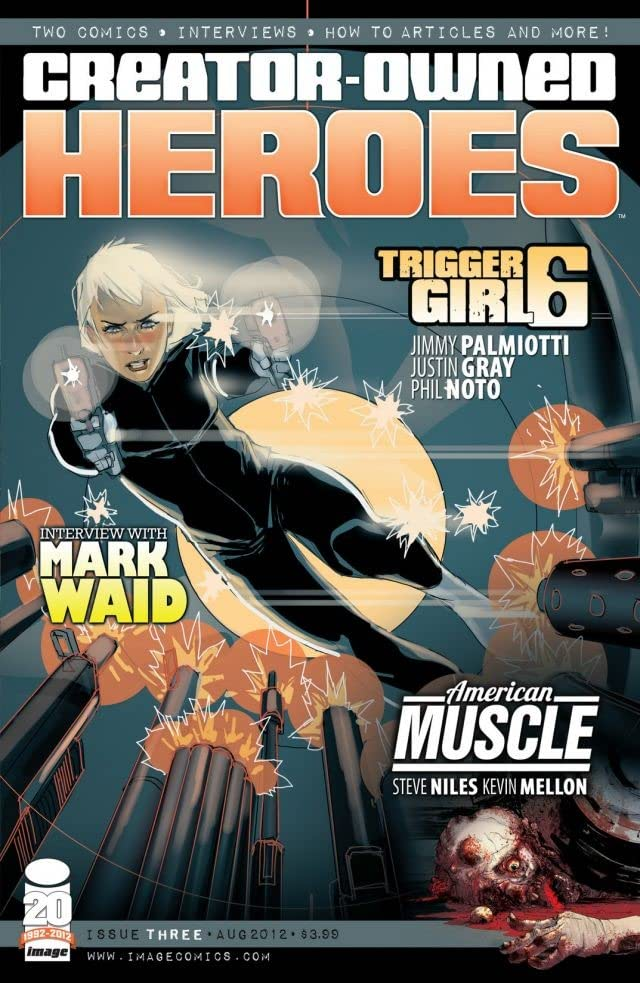 Creator Owned Heroes #3
