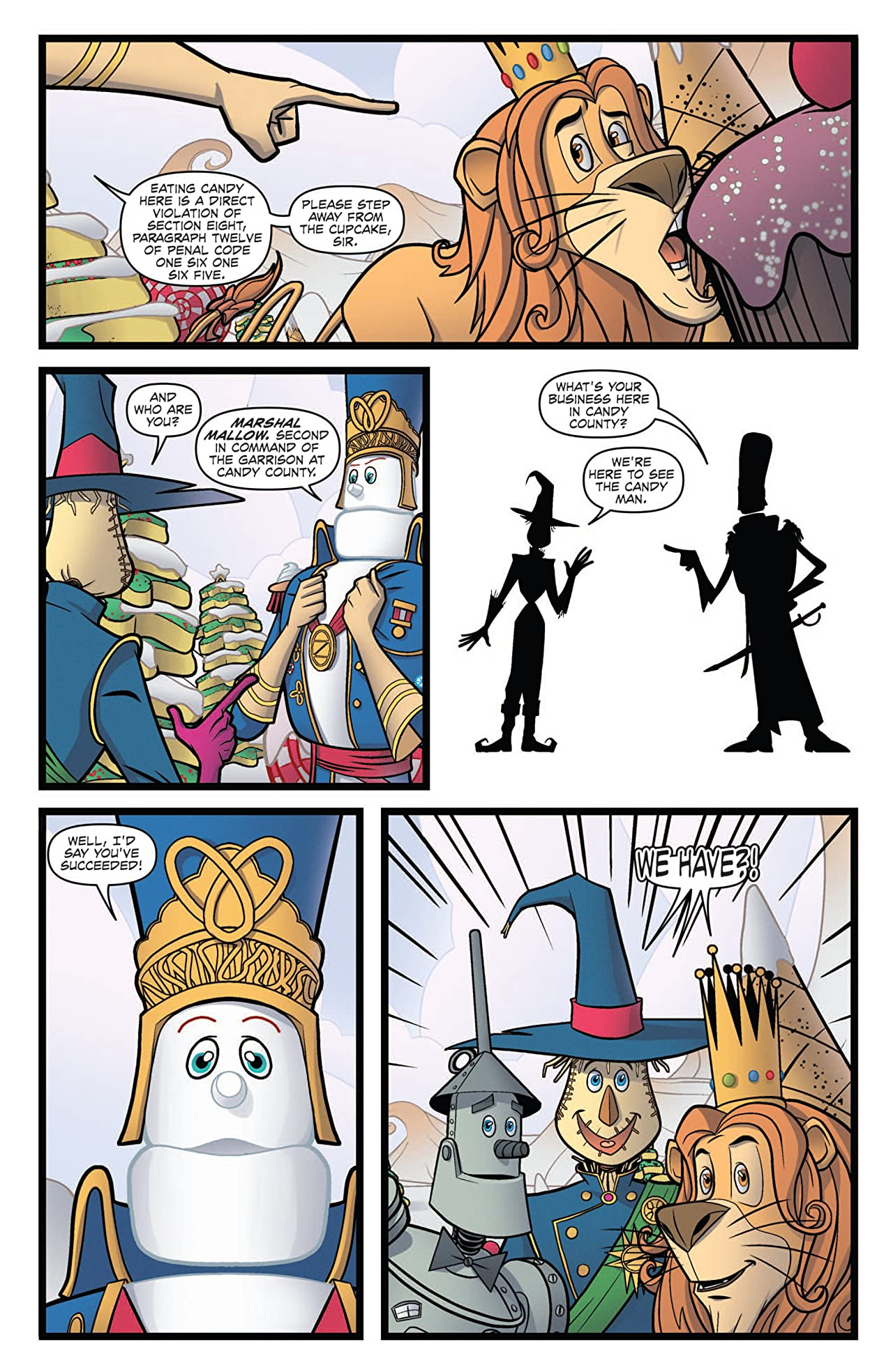 Dorothy of Oz Prequel #3 (of 4)