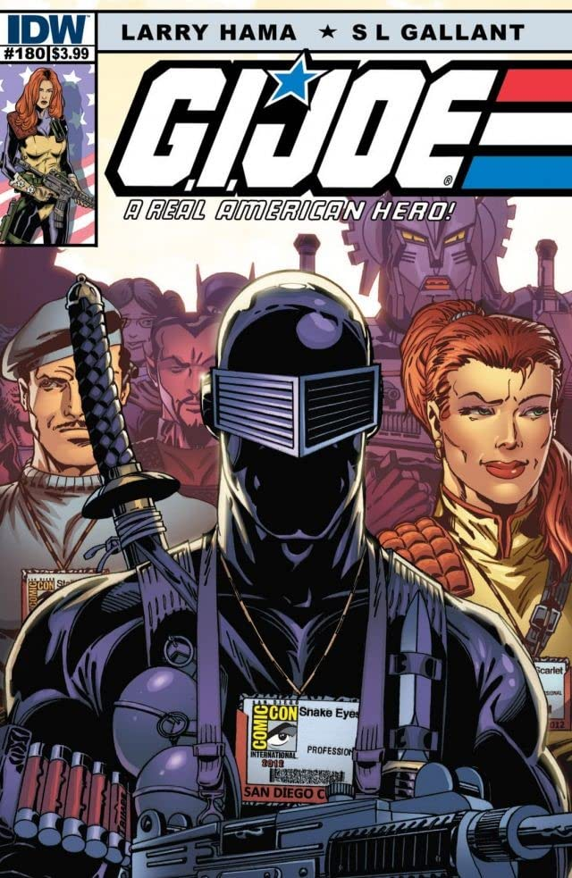 G.I. Joe: A Real American Hero #180