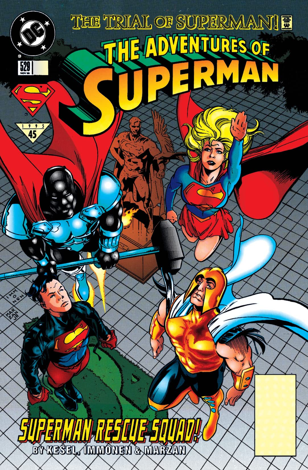 Adventures of Superman (1986-2006) #529