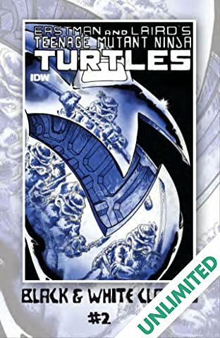 Teenage Mutant Ninja Turtles: Black & White Classics #2