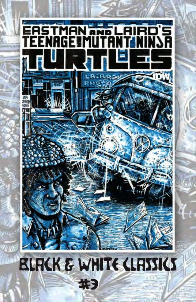 Teenage Mutant Ninja Turtles: Black & White Classics #3