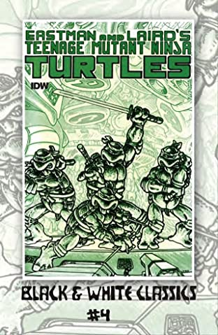 Teenage Mutant Ninja Turtles: Black & White Classics #4