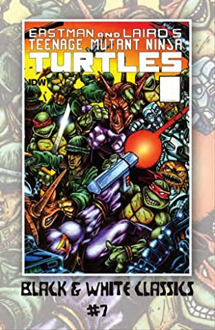 Teenage Mutant Ninja Turtles: Black & White Classics #7