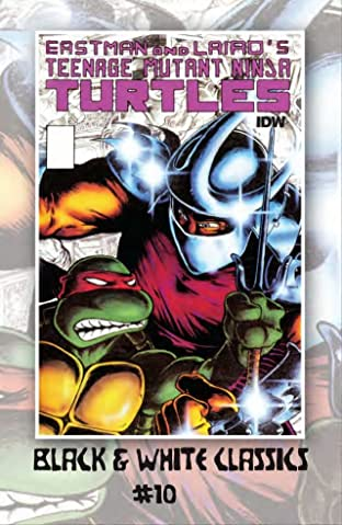 Teenage Mutant Ninja Turtles: Black & White Classics #10