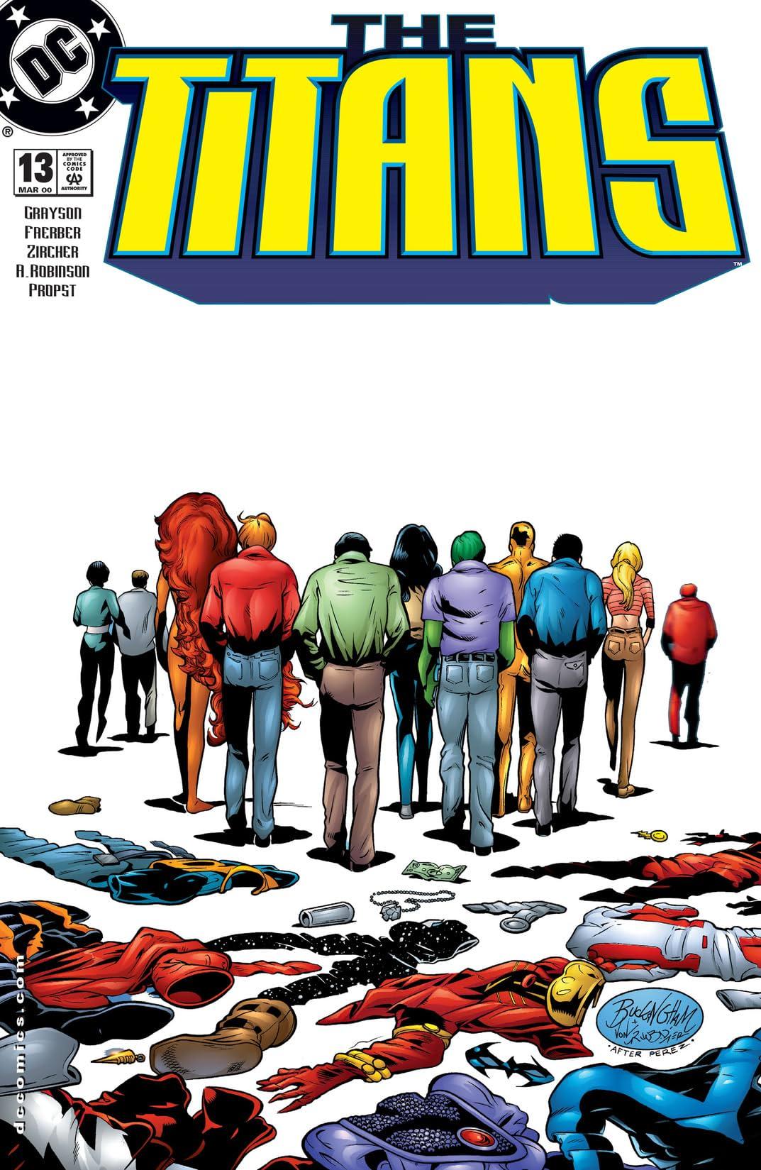 The Titans (1999-2003) #13
