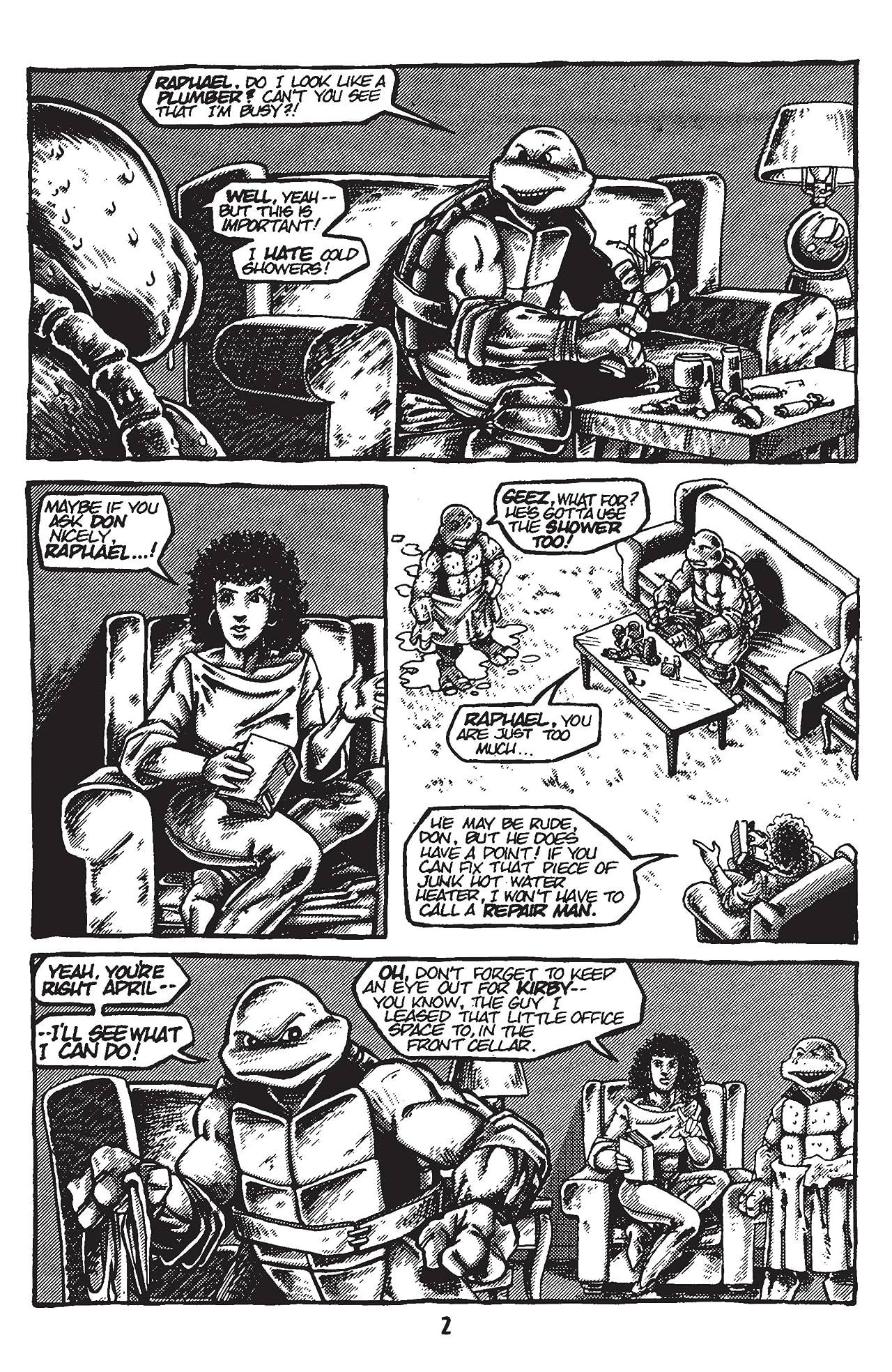 Teenage Mutant Ninja Turtles: Black & White Classics - Donatello