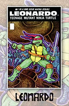 Teenage Mutant Ninja Turtles: Black & White Classics - Leonardo