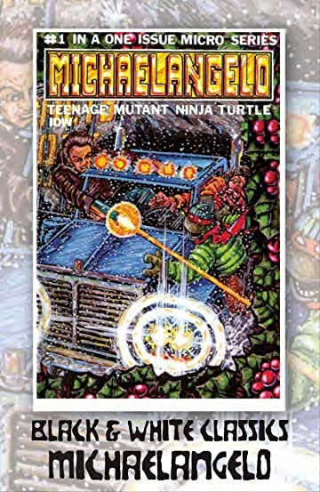 Teenage Mutant Ninja Turtles: Black & White Classics - Michelangelo
