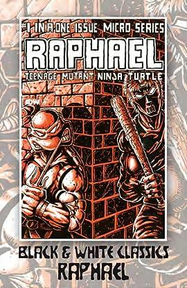 Teenage Mutant Ninja Turtles: Black & White Classics - Raphael