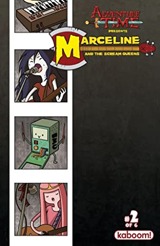 Adventure Time: Marceline and the Scream Queens No.2