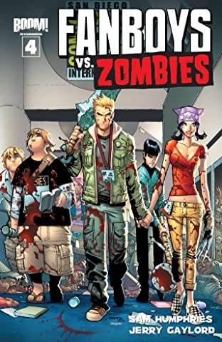 Fanboys vs. Zombies No.4