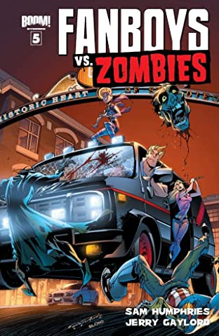 Fanboys vs. Zombies No.5