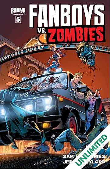 Fanboys vs. Zombies #5