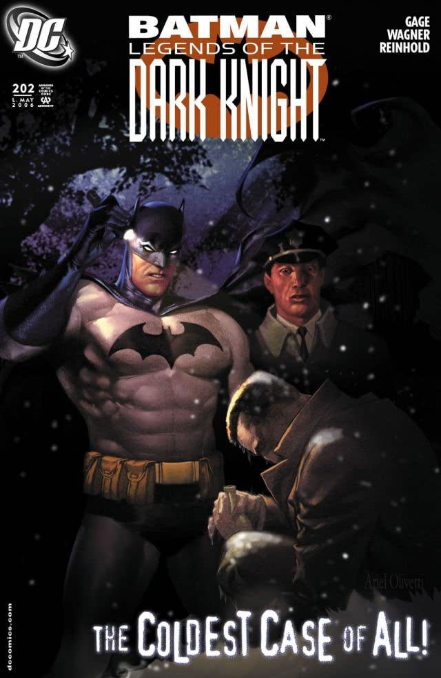 Batman: Legends of the Dark Knight #202