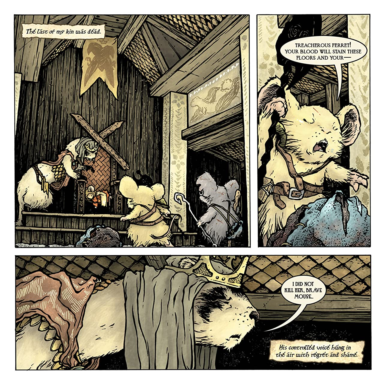 Mouse Guard: The Black Axe #5 (of 6)