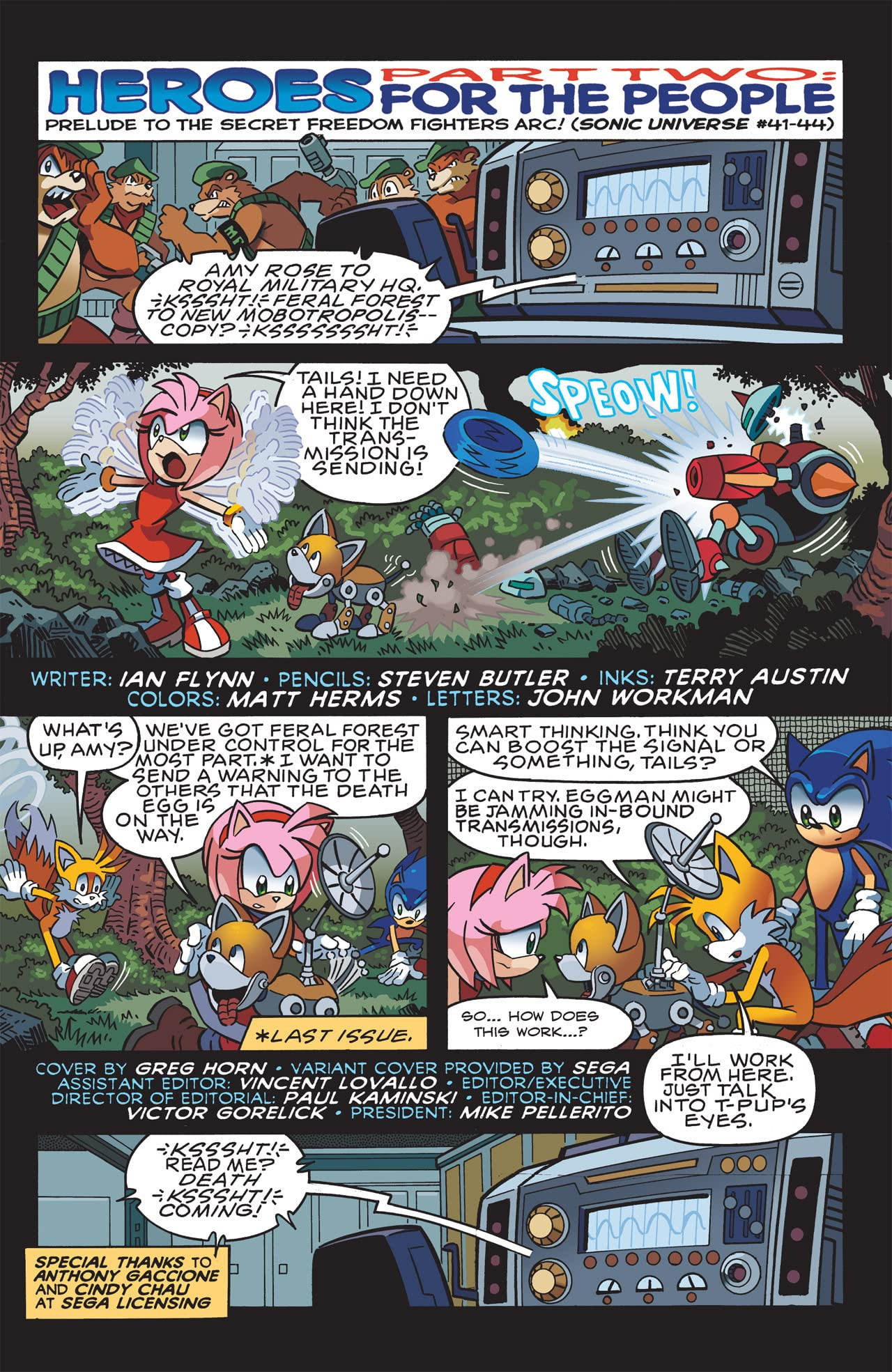 Sonic the Hedgehog #240