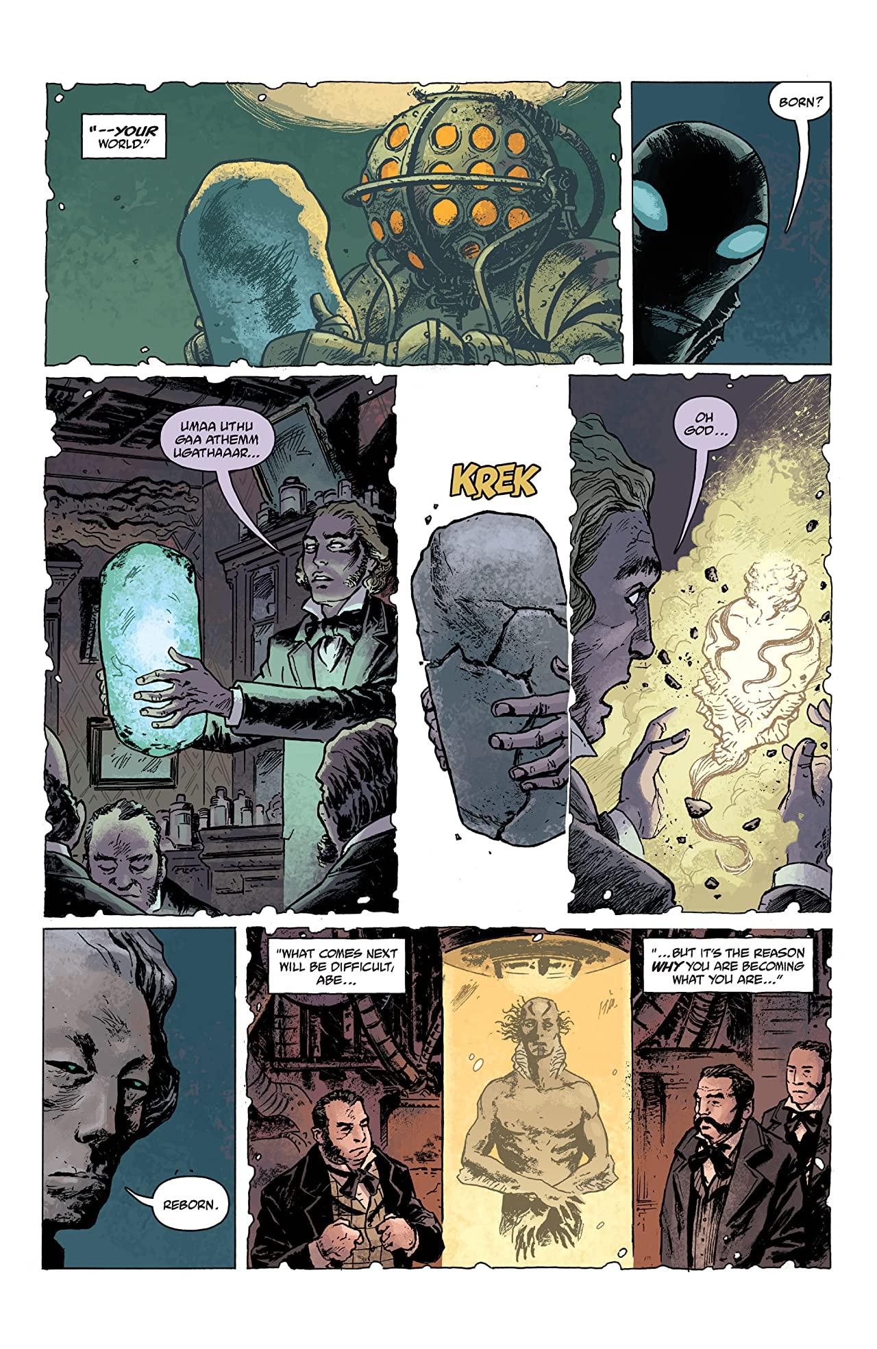 Abe Sapien #2: Dark and Terrible part 2