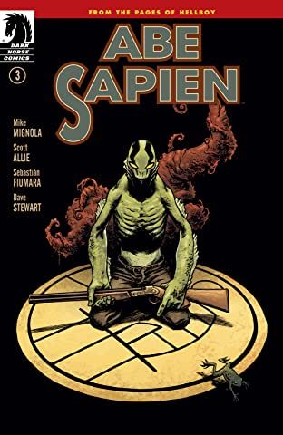 Abe Sapien No.3: Dark and Terrible part 3