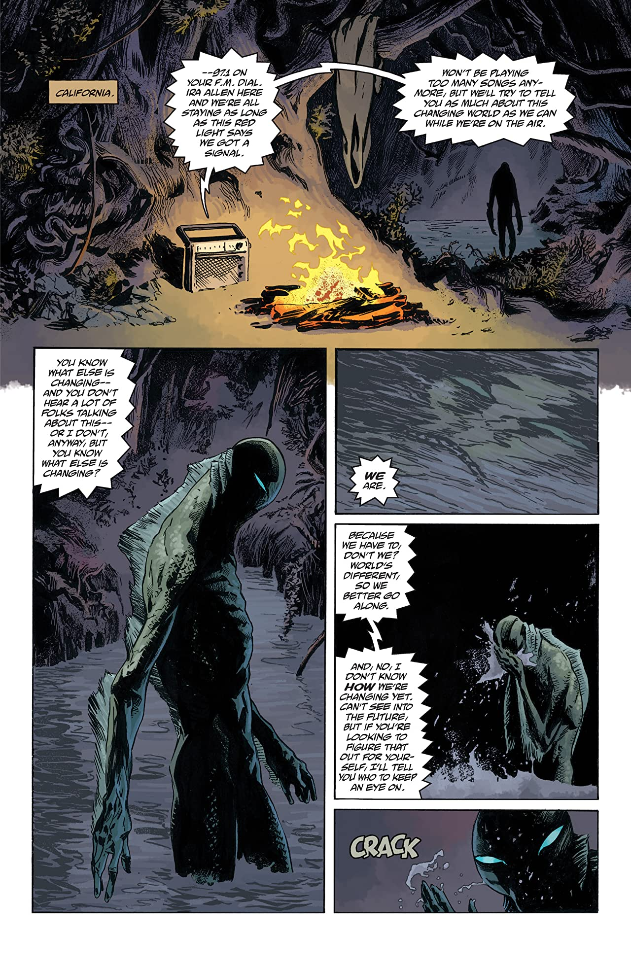 Abe Sapien #4: The New Race of Men (Part 1 of 2)