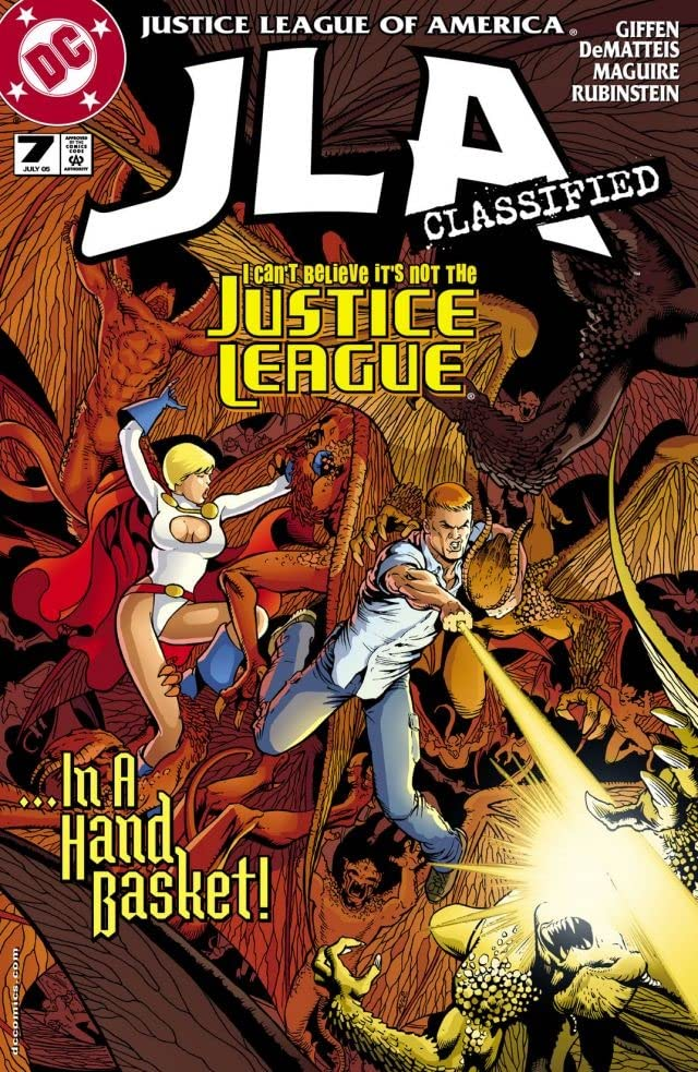 JLA: Classified #7