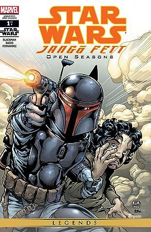 Star Wars: Jango Fett - Open Seasons (2002) #1 (of 4)