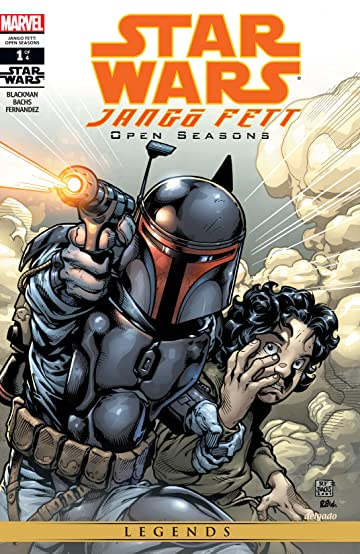 Star Wars: Jango Fett - Open Seasons (2002) #1 (of 4)