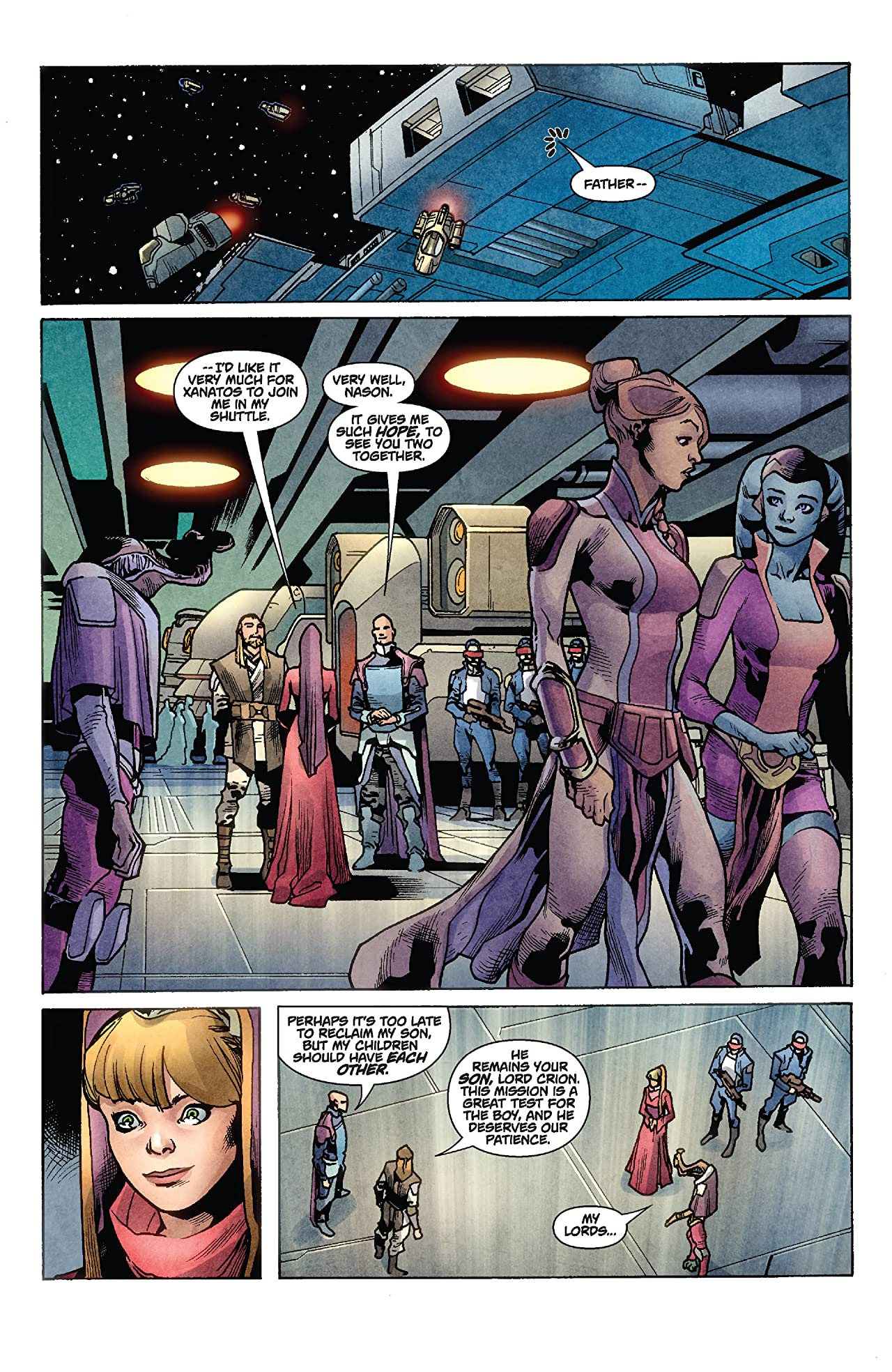 Star Wars: Jedi - The Dark Side (2011) #3 (of 5)