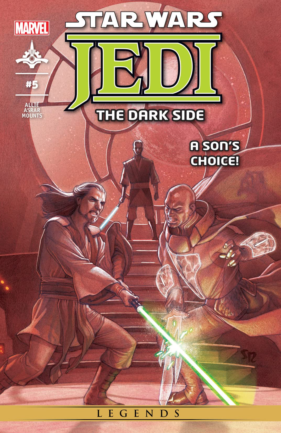 Star Wars: Jedi - The Dark Side (2011) #5 (of 5)