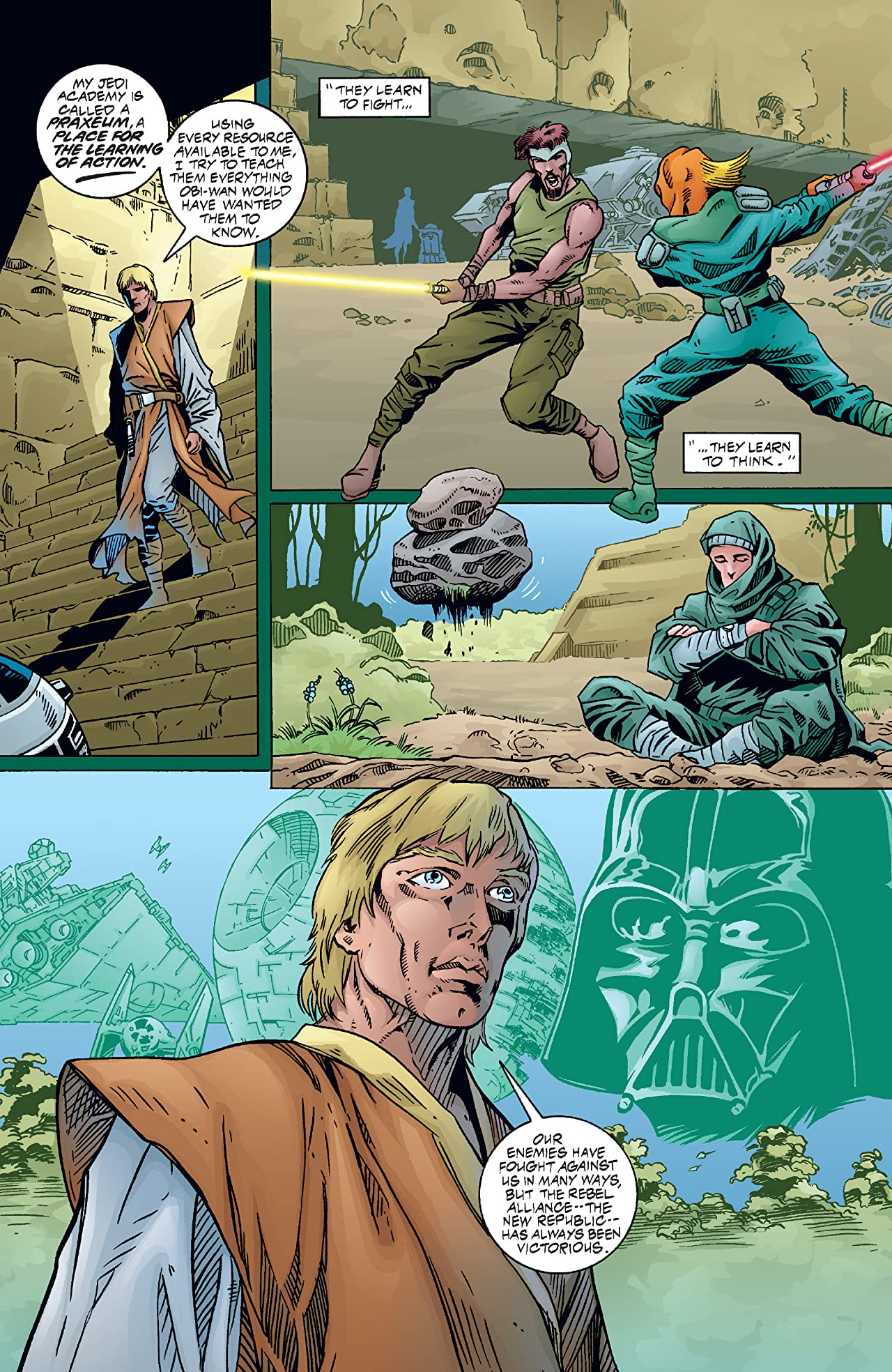 Star Wars: Jedi Academy - Leviathan (1998-1999) #1 (of 4)